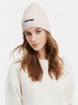 Kremowa damska czapka Puma - ONE SIZE
