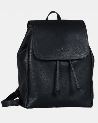 Czarny plecak damski Tom Tailor