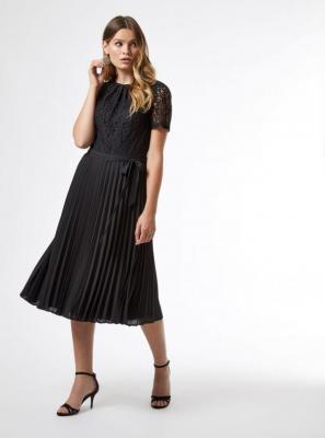 Czarna koronkowa sukienka Dorothy Perkins - XS
