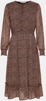 Stara różowa sukienka w kwiaty ONLY Carrie - XS