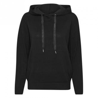 Saint Tropez AdithaSZ Pullover Swetry i bluzy Czarny Dorośli Kobiety