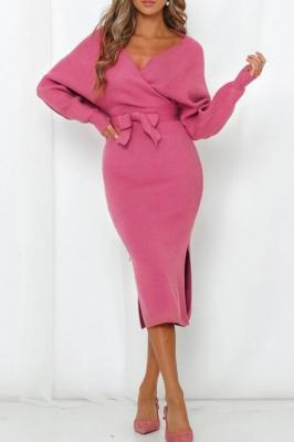 Sukienka FRANKA PINK