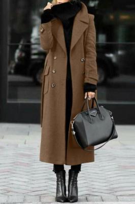 Płaszcz damski SILVESTRA BROWN