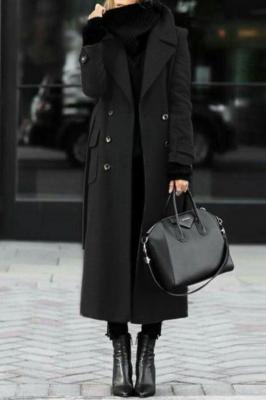 Płaszcz damski SILVESTRA BLACK