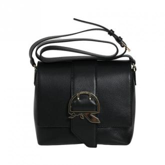 CASE WITH SHOULDER STRAP AND CENTRAL BUCKLE