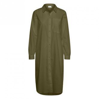 Kaffe merama Koszula Sukienka Sukienki Zielony Dorośli Kobiety
