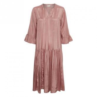 Kaffe KAthea 3 / 4S Sukienka Sukienki Różowy Dorośli Kobiety Rozmiar: