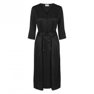 Kaffe KAvella Sukienka Sukienki Czarny Dorośli Kobiety Rozmiar: 34