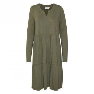 Kaffe Petra Sukienka Sukienki Zielony Dorośli Kobiety Rozmiar: XS