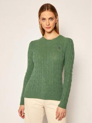Polo Ralph Lauren Sweter Julianna Wool/Cashmere 211525764073 Zielony Regular Fit