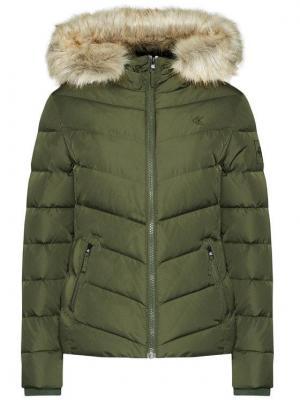 Calvin Klein Jeans Kurtka puchowa J20J215003 Zielony Slim Fit