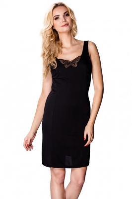 Mewa Papilo 6278 Halka pod sukienkę, czarny