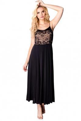 Mewa Amaretto 6283 Nocna koszula, czarny