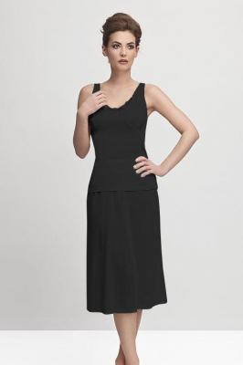 Mewa 4141 Halka pod sukienkę, czarny