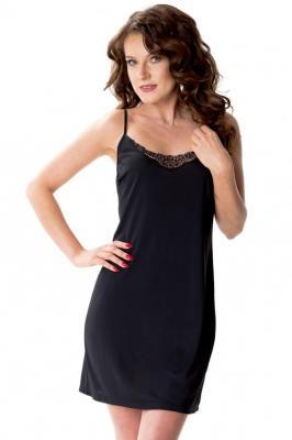 Mewa Atelia 6353 Halka pod sukienkę, czarny