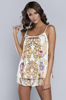 Italian Fashion Gold w.r.kr.sp. Nocna piżama, gold