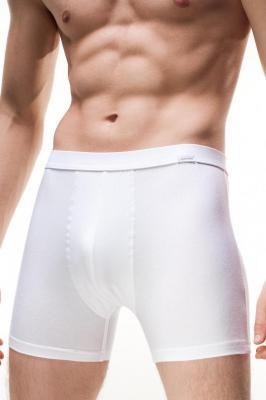 Cornette Perfect Authentic Majtki bokserki, biały