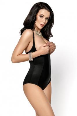 Gorsenia K148 Sanremo Body wyszczuplające, czarny