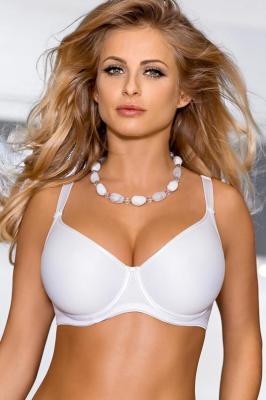 Nipplex Anna Big Biustonosz usztywniany, biały