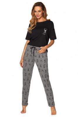 Rossli SAL-PY-1168 I Nocna piżama, czarny