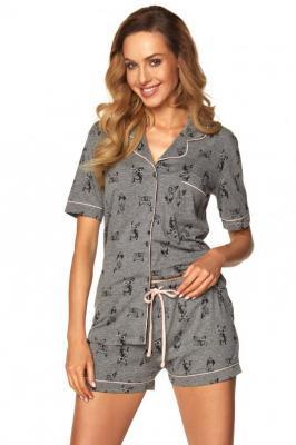 Rossli SAL-PY-1169 Nocna piżama, szary