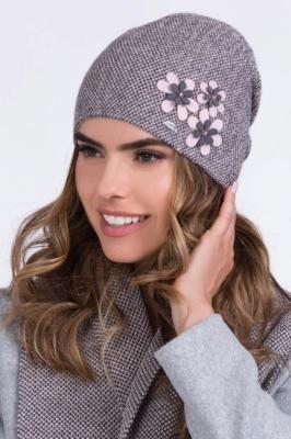 Kamea Lusi Nakrycie głowy czapka, różowy jasny