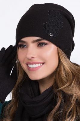 Kamea Serena Nakrycie głowy czapka, czarny
