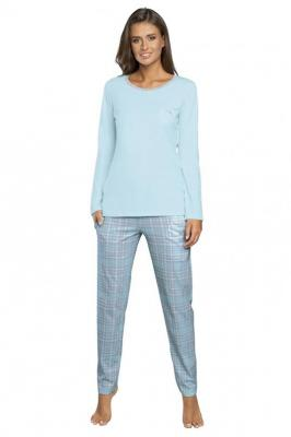 Italian Fashion Mitali dł.r. dł.sp. Nocna piżama, niebieski