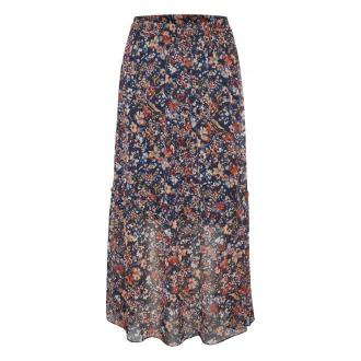 Saint Tropez ValerieSZ Skirt Spódnice Niebieski Dorośli Kobiety