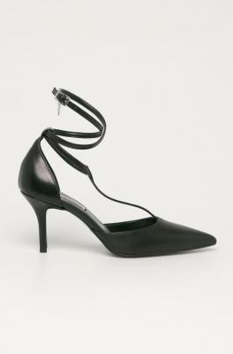 Karl Lagerfeld - Szpilki skórzane