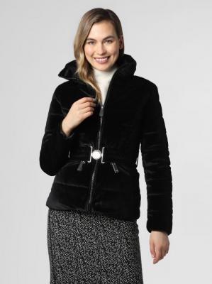 GUESS - Damska kurtka pikowana, czarny