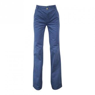 Tory Burch Spodnie Flare Spodnie Niebieski Dorośli Kobiety Rozmiar: S