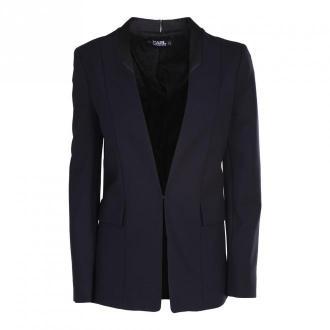Karl Lagerfeld Jacket Kurtki Niebieski Dorośli Kobiety Rozmiar: 42 IT