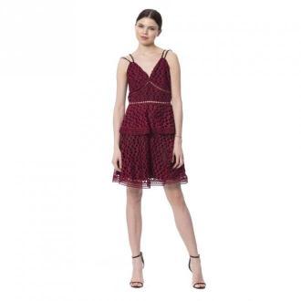 Silvian Heach Dress Sukienki Czerwony Dorośli Kobiety Rozmiar: XS