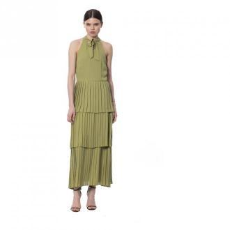 Silvian Heach Kaki Dress Sukienki Zielony Dorośli Kobiety Rozmiar: M