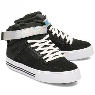 DC Pure High-Top V - Sneakersy Damskie - ADJS100125 BS2