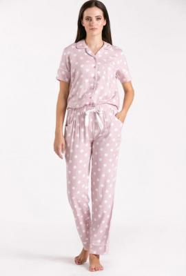 Dół od piżamy w grochy