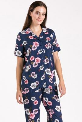 Góra od piżamy w kwiaty