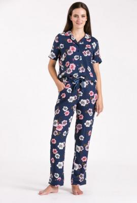 Dół od piżamy w kwiaty