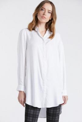 Klasyczna koszula z dłuższym tyłem