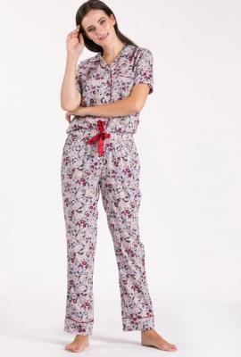 Dół od piżamy w kwiatki