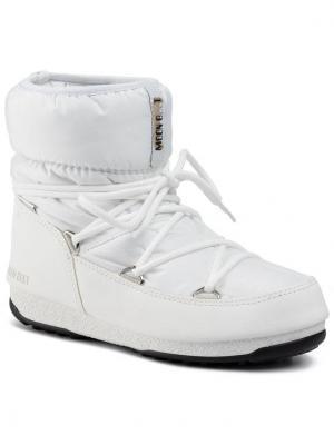 Moon Boot Śniegowce Low Nylon Wp 2 240093002 Biały