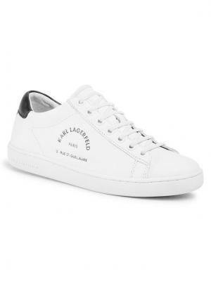 KARL LAGERFELD Sneakersy KL61238 Biały