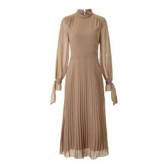 Pleated Dress Midi