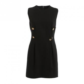 Versace Sukienka Sukienki Czarny Dorośli Kobiety Rozmiar: 38 IT