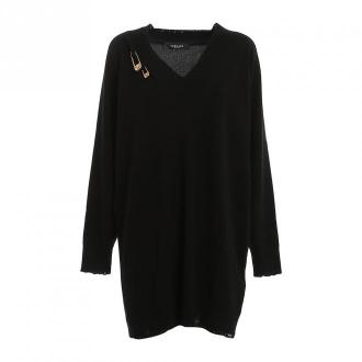 Versace Sukienka Sukienki Czarny Dorośli Kobiety Rozmiar: S - 42 IT
