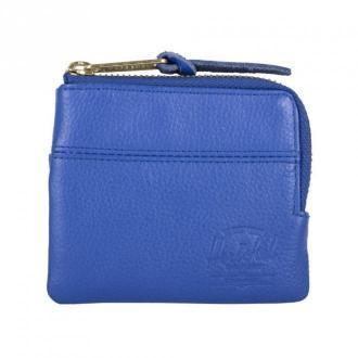 Herschel Jhonny Leather wallet Akcesoria Niebieski Dorośli Kobiety