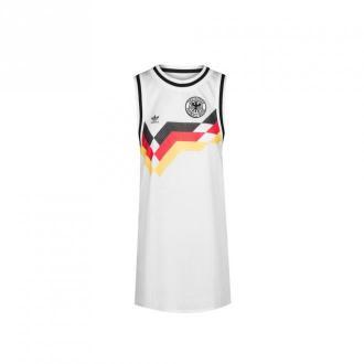 Adidas Tank sukienka Gives Sukienki Biały Dorośli Kobiety Rozmiar: M -