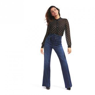 Guess Spodnie jeansowe Jeansy Niebieski Dorośli Kobiety Rozmiar: S