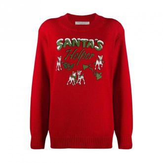 Santa's Helper long sweater